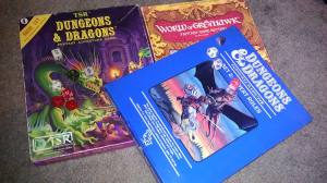 Yes, I know Greyhawk was for AD&D, but it looked good in the picture