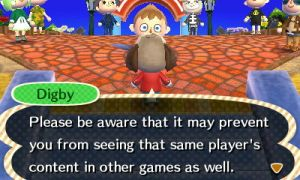 Digby explains blocking players in #ACNL