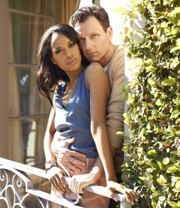 Kerry Washington (Olivia) and Tony Goldwyn (Fitz) from the ABC drama, Scandal. Photoshoot from the April 2013 TV Guide cover. It's an understatement to say their fans are devoted. (Photo Source: In Flex We Trust)