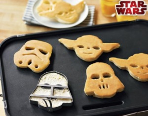 Only a real fan would a Yoda-shaped pancake